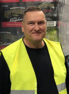 Mikael Pellrud Logistikchef Kopparberg